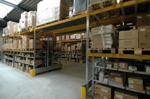 Metalsistem superbuild palletstelling doorgang