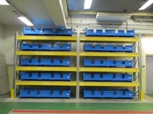 Metalsistem unibuild palletstelling kunststof bak