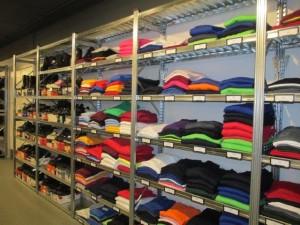 Metalsistem unirack winkelstelling kleding